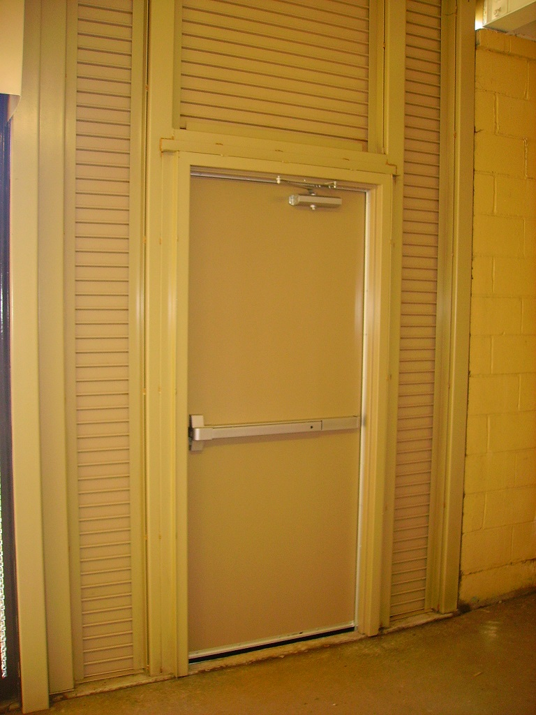 Man Doors u0026 Equipment & Commercial Steel u0026 Security Doors   Pacific Dock u0026 Door