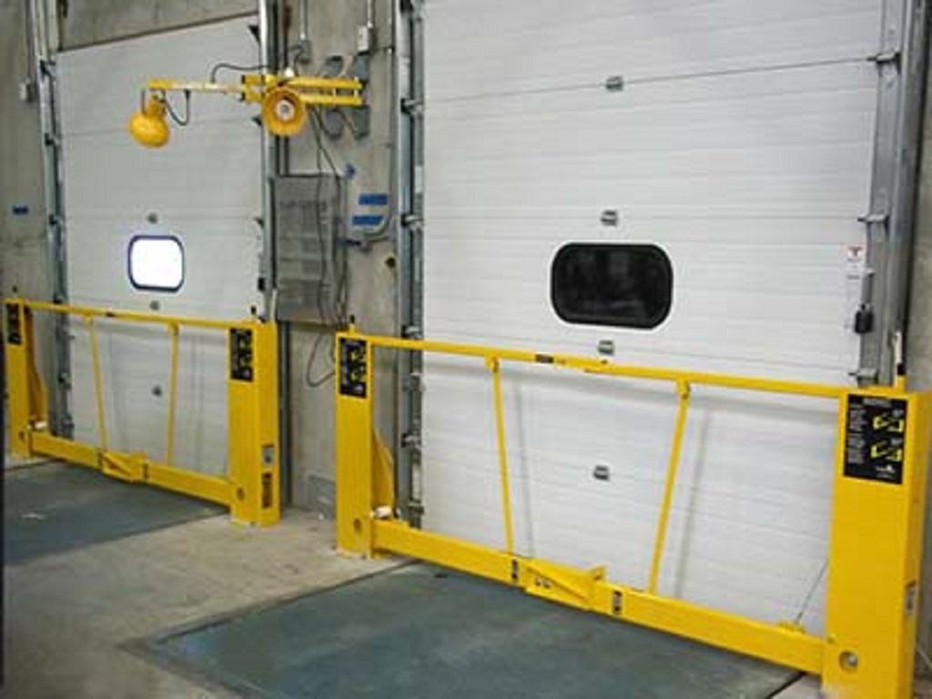 Commercial security gates pacific dock door